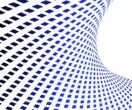Blauer quadratischer Hintergrund Lizenzfreie Stockbilder