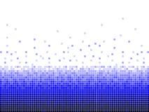 Blauer quadratischer Hintergrund Digital Stockbilder