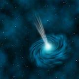 Blauer Quasar Lizenzfreie Stockfotografie