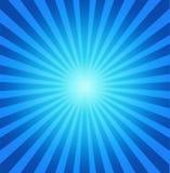 Blauer radialhintergrund Stockfotos
