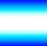 Blauer Rahmen mit nahtlosem arabischem Muster Stockfoto
