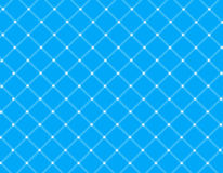 Blauer Rasterfeldhintergrund Stockfoto