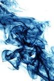 Blauer Rauch Lizenzfreies Stockbild