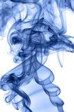 Blauer Rauch Lizenzfreie Stockfotos
