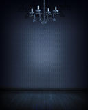 Blauer Raum Stockbilder