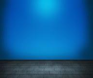 Blauer Raum-Hintergrund stock abbildung