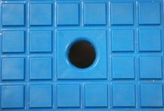 Blauer Raum mit Nut Lizenzfreie Stockfotografie