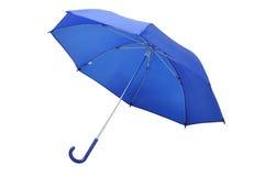 Blauer Regenschirm Stockbild