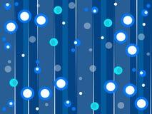 Blauer Retro- Arthintergrund Lizenzfreie Stockfotos