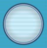 Blauer Retro- Hintergrund mit rundem Lizenzfreies Stockfoto