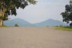 Blauer Ridge-Berge Stockfoto