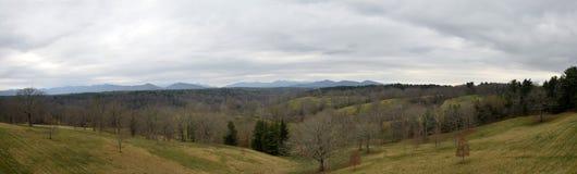 Blauer Ridge-Berge im Fall Lizenzfreie Stockfotografie
