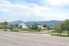 Blauer Ridge Mountains im Roanoke Lizenzfreies Stockbild