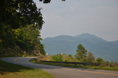 Blauer Ridge Mountains in Virginia Lizenzfreie Stockfotografie
