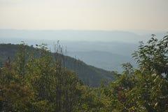 Blauer Ridge Mountains in Virginia Lizenzfreie Stockbilder