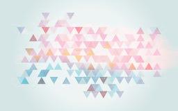Blauer rosa weicher Hintergrund Stockbilder