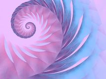 Blauer rosafarbener purpurroter Strudel-Rüttler   Stockfotos