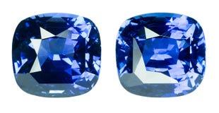Blauer Saphir Lizenzfreies Stockbild