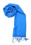 Blauer Schal Lizenzfreies Stockbild
