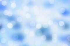 Blauer Schein bokeh Hintergrund Stockfotos