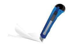 Blauer Scherblock vektor abbildung