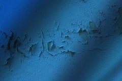 Blauer Schmutzwandton-Beschaffenheitshintergrund Lizenzfreie Stockbilder