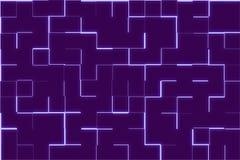 Blauer Scifi-Zusammenfassungs-Hintergrund Lizenzfreies Stockbild