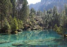 Blauer See Lizenzfreies Stockbild