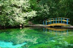 Blauer See in Kasan, Tatarstan, Russland Stockbilder