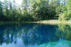 Blauer See, Nationalpark Lizenzfreies Stockbild