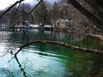 Blauer See Russland Kabardino-Balkarien Stockbilder