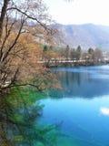 Blauer See Russland Kabardino-Balkarien Stockfotografie