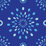 Blauer semless Hintergrund Stockbilder