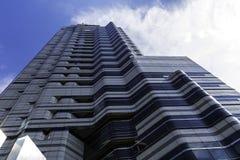 Blauer Seoul-Wolkenkratzer Stockbilder