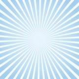 Blauer Sonnenlichthintergrund Stockfotos