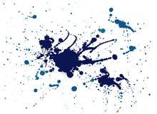 Blauer Spritzenanstrich Lizenzfreie Stockfotografie