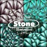 Blauer Steinhintergrund für Ihre Ideen stock abbildung