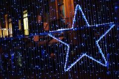 Blauer Stern 2 Stockfotografie