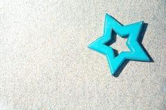 Blauer Stern Stockbild