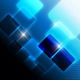 Blauer stilvoller Hintergrund Lizenzfreie Stockfotos