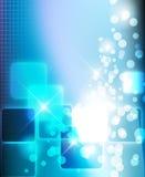 Blauer stilvoller Hintergrund Lizenzfreie Stockbilder