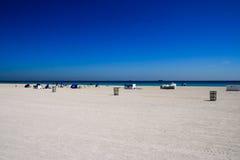 Blauer Strand Lizenzfreies Stockfoto