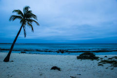 Blauer Strand Stockfotografie