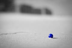 Blauer Strand-Marmor Lizenzfreie Stockbilder