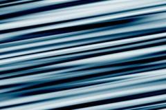 Blauer Streifen-Auszug Stockbilder