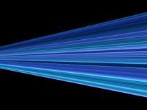 Blauer Streifenschwarzhintergrund Lizenzfreies Stockbild