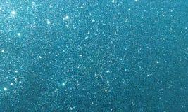 Blauer strukturierter Hintergrund mit Funkelneffekthintergrund stockfoto