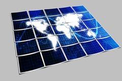 Blauer Technologie-Hintergrund Lizenzfreie Stockfotos