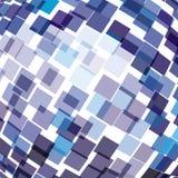 Blauer Technologiehintergrund. Lizenzfreies Stockfoto