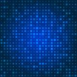 Blauer Technologiehintergrund Lizenzfreies Stockbild